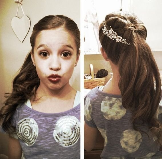 The Best Kenzie Her Cute Hairstyle Dance Moms Pinterest Pictures