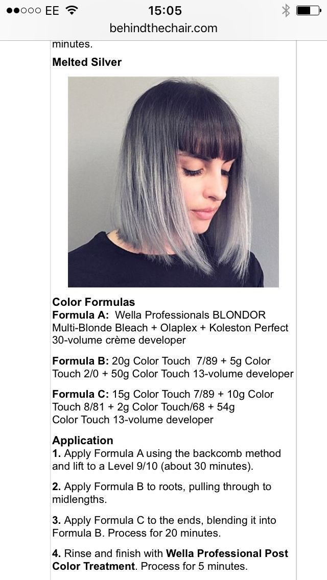 The Best 108 Best Images About Wella Formulas On Pinterest Pastel Pictures