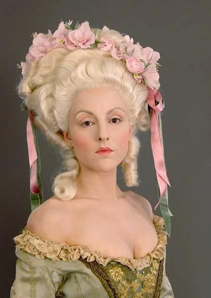 The Best Baroque Rococo Hair Styles Colonial Fashion Pictures