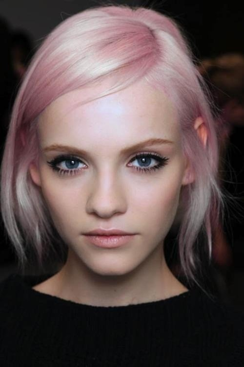 The Best Sweet Ombre Hair Platinum And Pink Pink Platinum Dyed Pictures