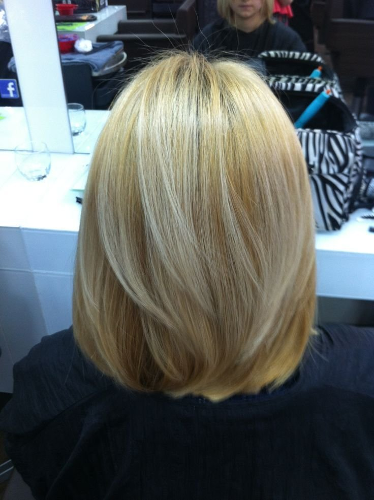 The Best Hair After Haircut I Did A One Length Shoulder Bob With Pictures
