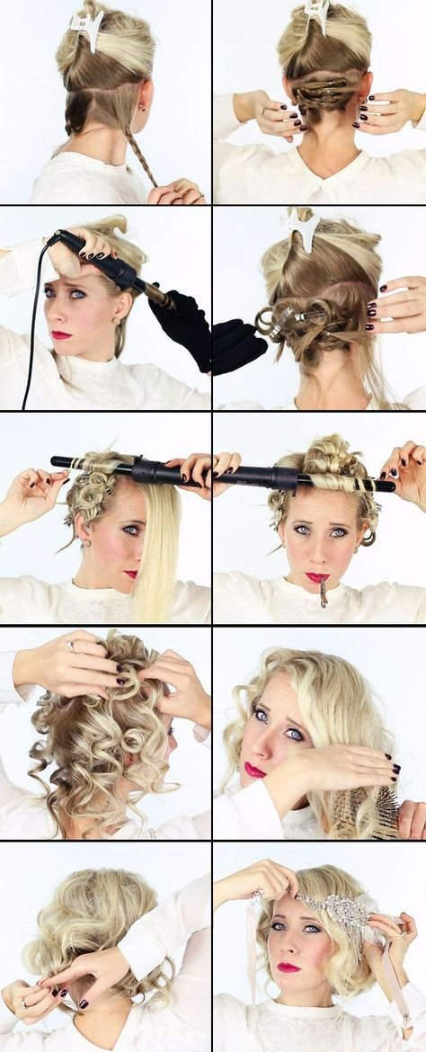 The Best 17 Best Ideas About 1920S Hair Tutorial On Pinterest Pictures