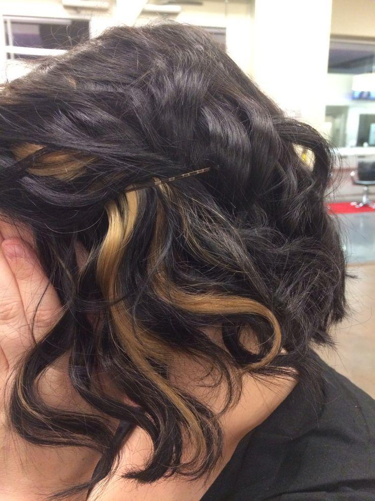 The Best All Over Hair Color And Peekaboo Highlights By Me Hair Pictures
