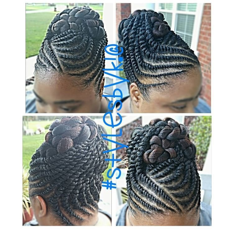 The Best See This Instagram Photo By Kiabia87 • 109 Likes Hair Styles Pinterest Flats Twists And Updo Pictures