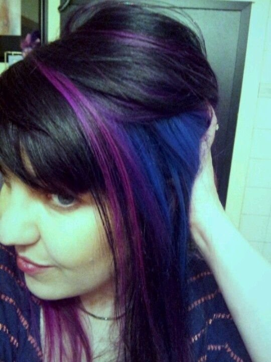 The Best 1000 Ideas About Color Block Hair On Pinterest Pink Pictures