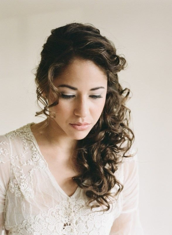 The Best 25 Best Ideas About Curly Wedding Hairstyles On Pinterest Pictures