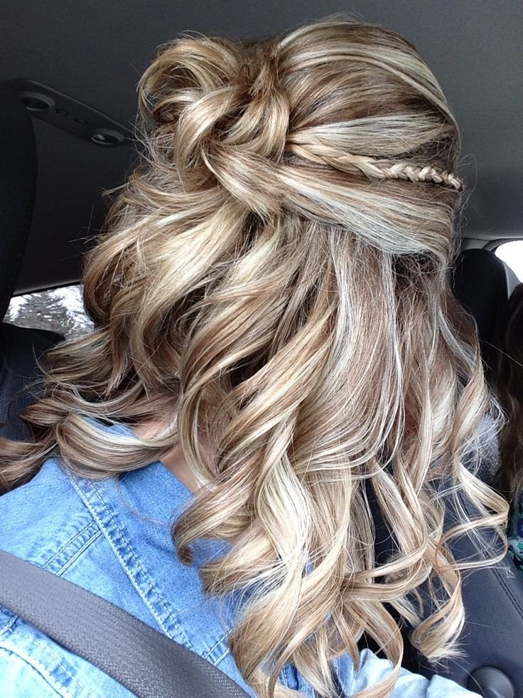 The Best 17 Best Ideas About Curly Braided Hairstyles On Pinterest Pictures