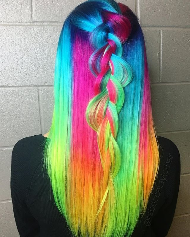 The Best Best 25 Multicolored Hair Ideas On Pinterest Pictures