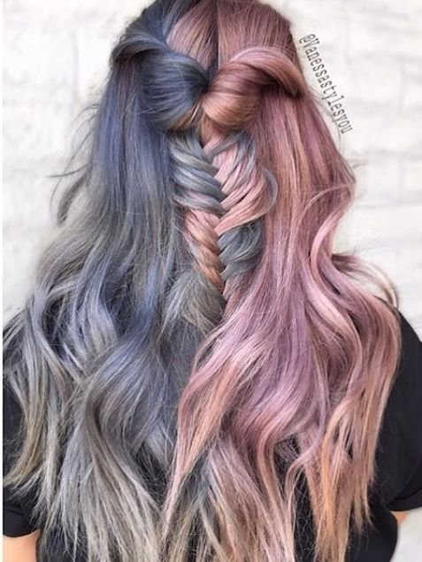 The Best Best 25 Two Color Hair Ideas On Pinterest Two Toned Pictures