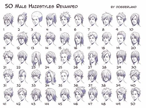 The Best Anime Hairstyles For Guys Side View – Hd Wallpaper Gallery Pictures