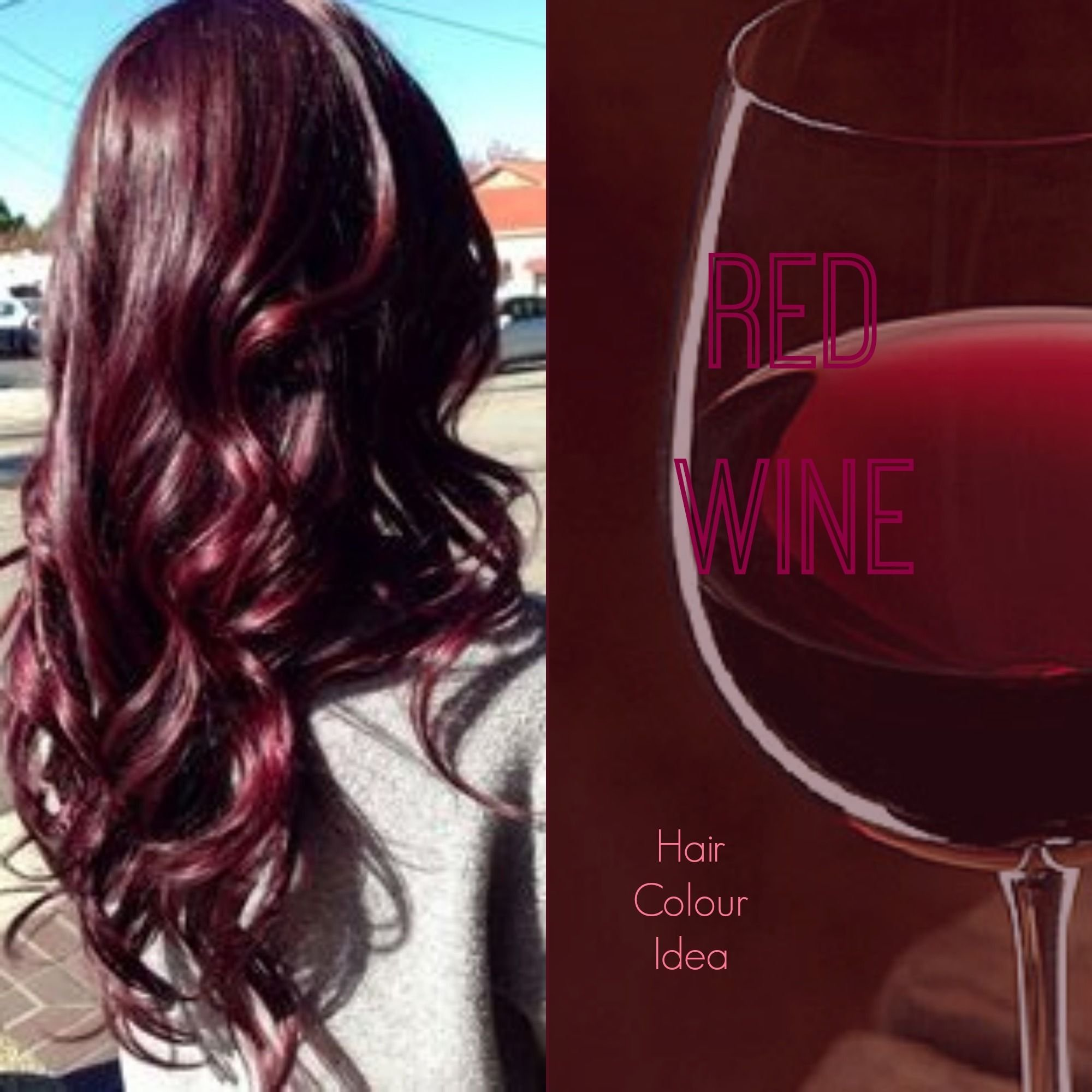 The Best Red Wine Hair Colour Redhair Burgundyhair Haircolour Pictures