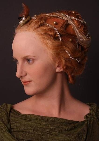 The Best Reconstruction Of Women's Hairstyles From The 14Th And Pictures Original 1024 x 768