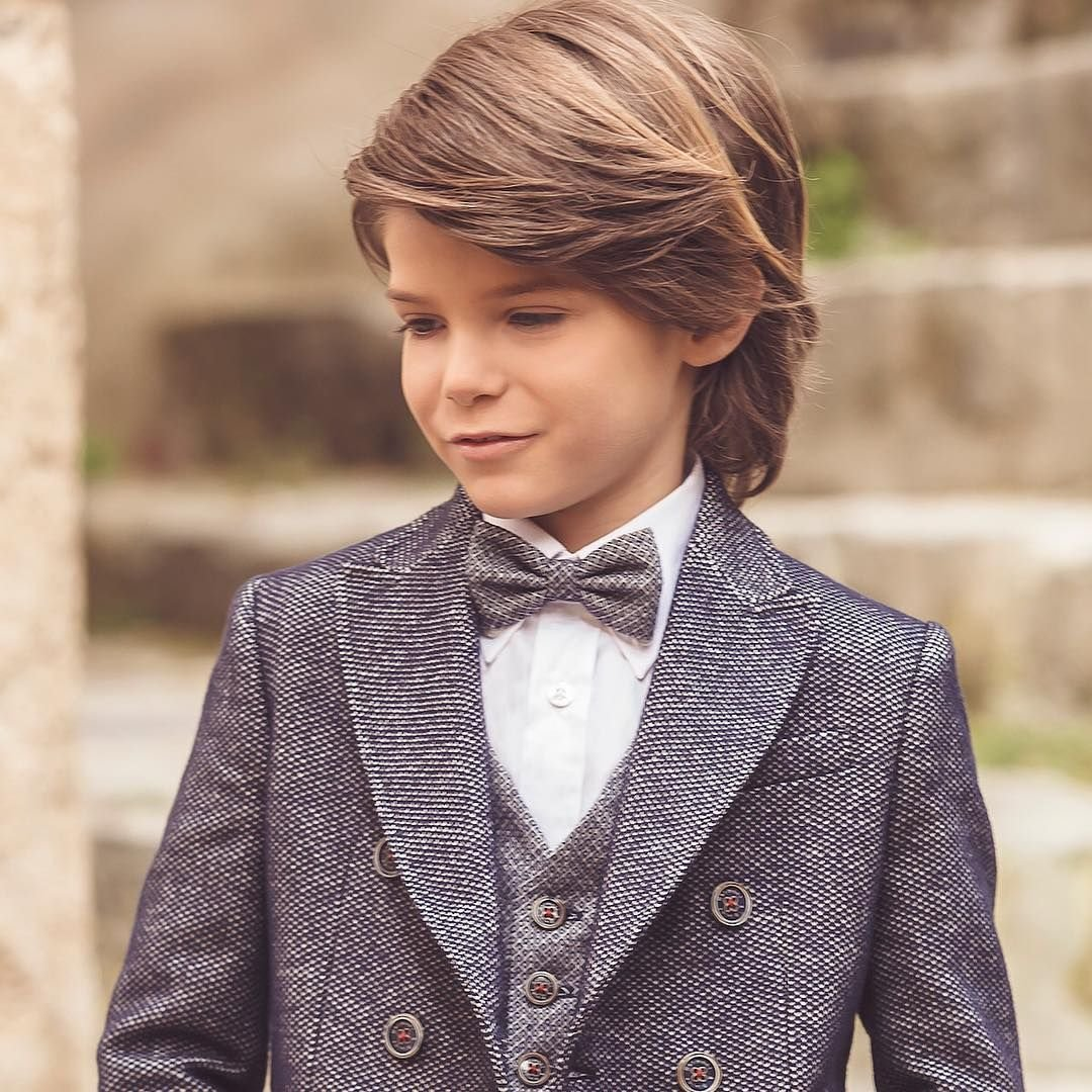 The Best Cool 50 Charming Boys Long Hairstyles For Your Kid Pictures