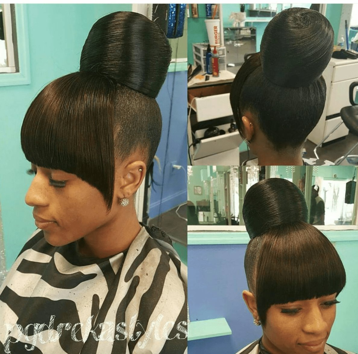 The Best Flawless Bun And Bang Via Pgdrekahairpage Http Pictures