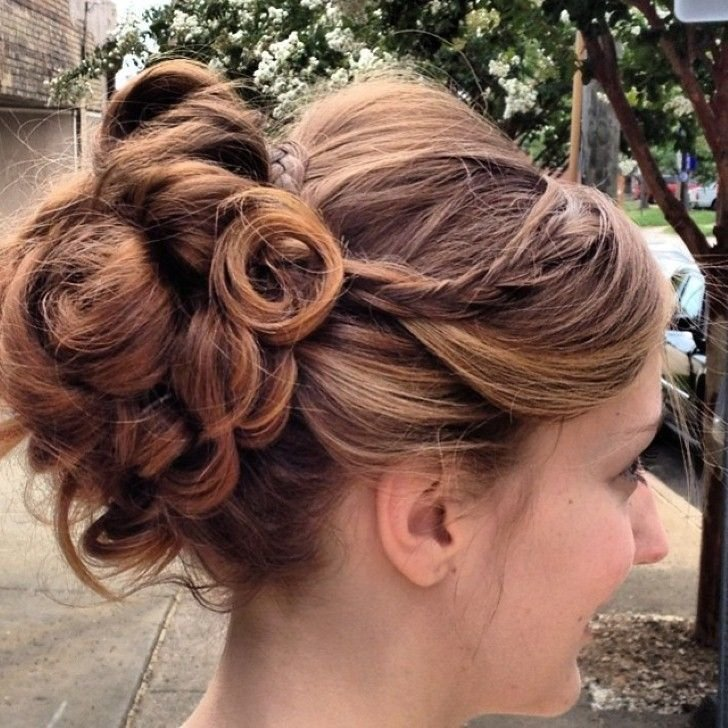 The Best Curly Wedding Updos For Short Hair Wedding Hair Styles Pictures