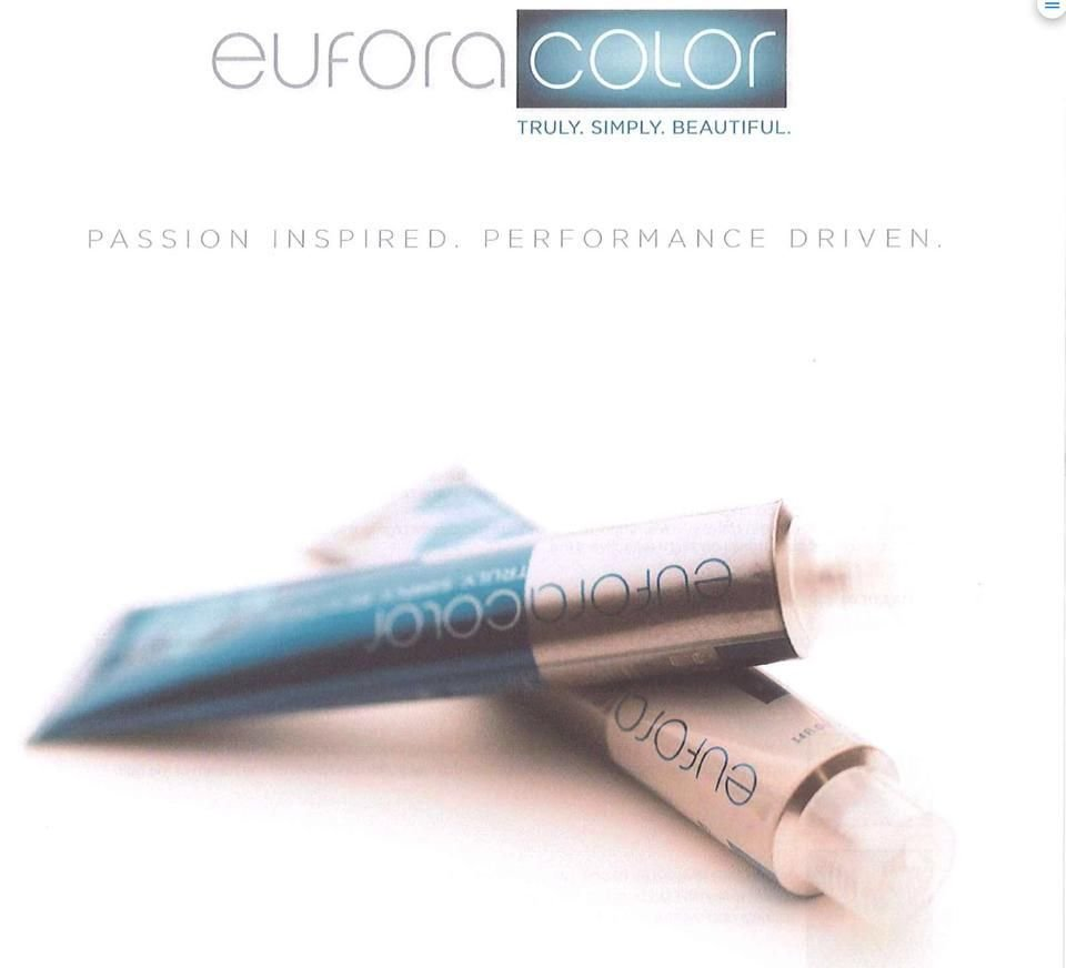 The Best Eufora Hair Color Low Ammonia And No Ammonia Formulations Pictures