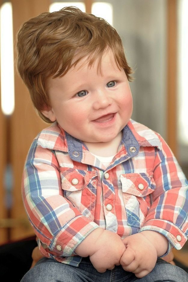 The Best Hairstyles For 1 Year Old Boy Haircuts Gallery Pictures
