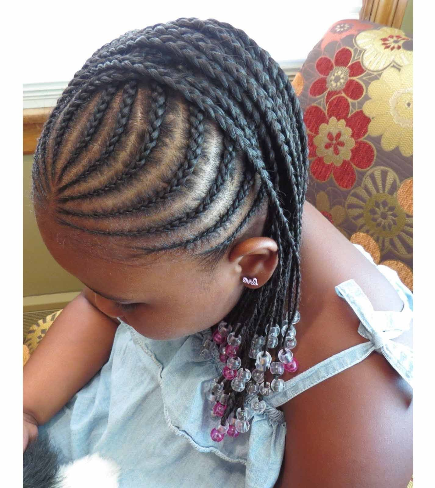 The Best Braided Hairstyles For Little Black Girls With Different Pictures
