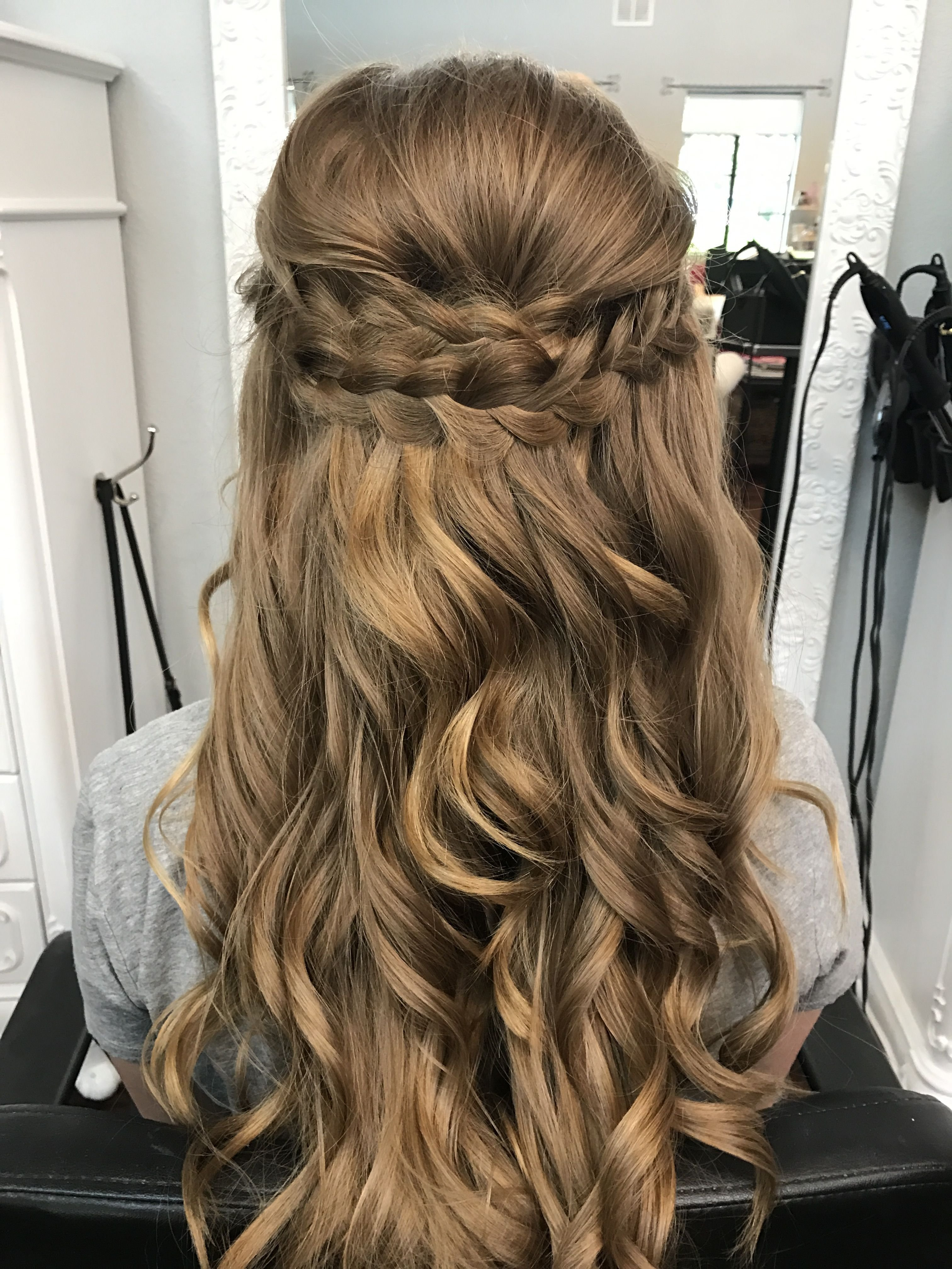 The Best Braided Half Up Half Down Prom Hair Bombshell Hair Pictures