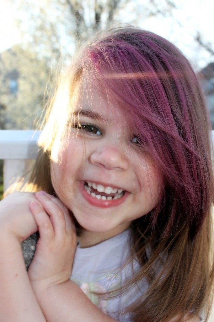 The Best Fun Activity For Your Weekend Chalk Dye The Kids Hair Pictures