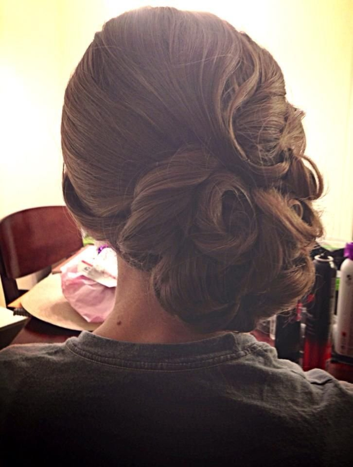 The Best Vintage Updo Pin Curls Wedding Hair Finger Waves Pictures