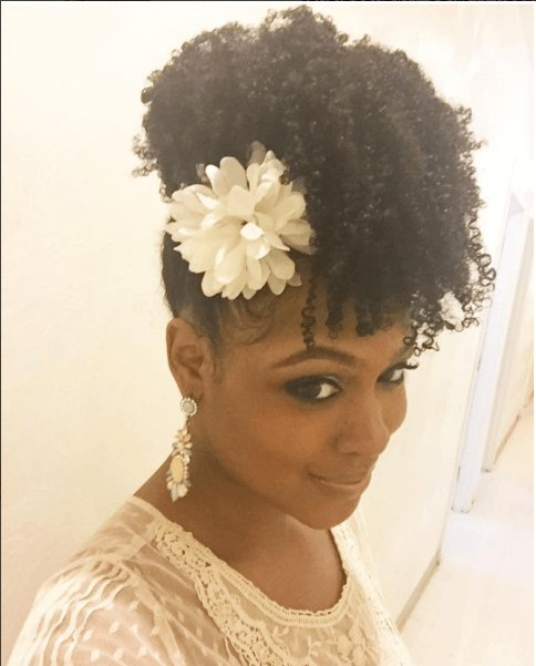 The Best Chic Natural Hairstyles For Weddings More Elegant Updo Pictures