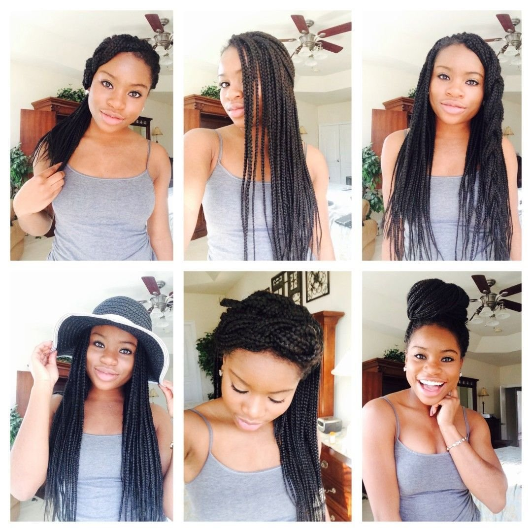 The Best 15 Quick And Easy Box Braids Hairstyles Video Box Pictures