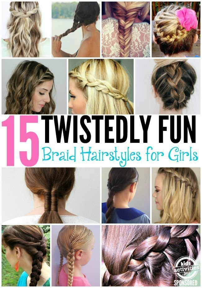 The Best 15 Fun Braid Hairstyles For Girls What Kind Of Girls Pictures