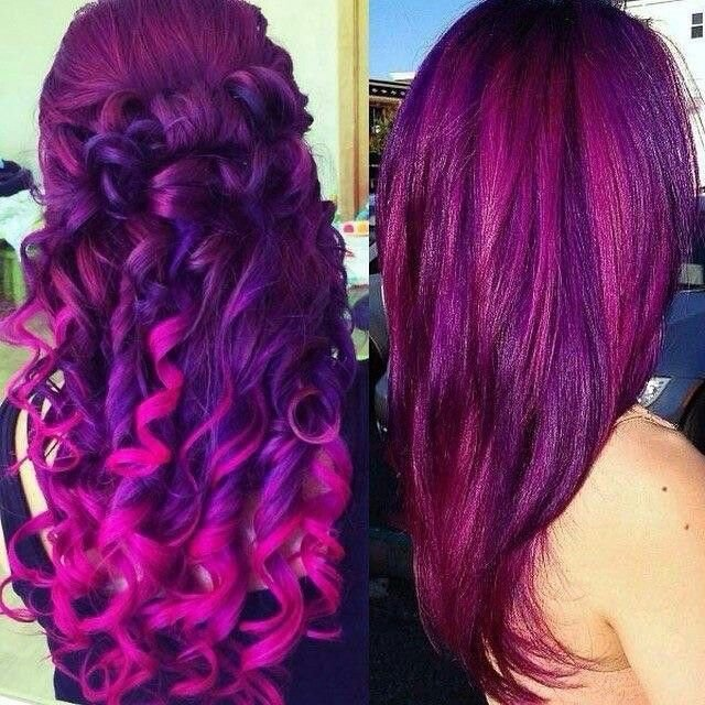 The Best Purples And Pinks Hair Spray Pinterest Purple Hair Pictures