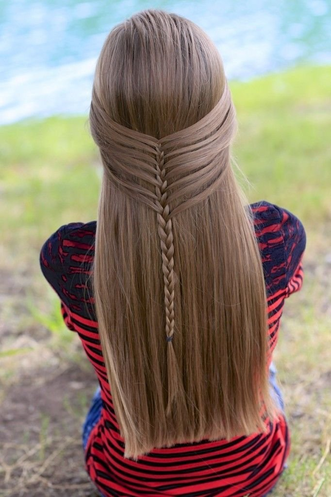 The Best Mermaid Half Braid By Cute Girls Hairstyles Create This Pictures