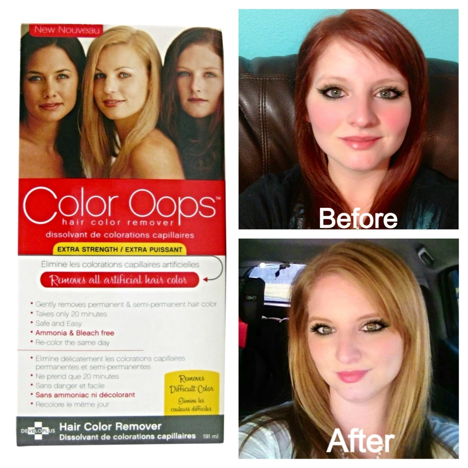 The Best Color Oops Is A Safe Way To Remove Permanent And Semi Pictures