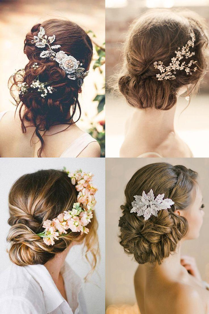 The Best 18 Most Romantic Bridal Updos ♥ Beautiful Wedding Pictures