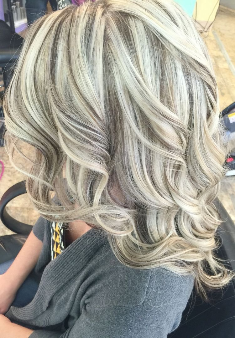 The Best Platinum Blonde Highlights Heavy Blonde Highlights And Pictures