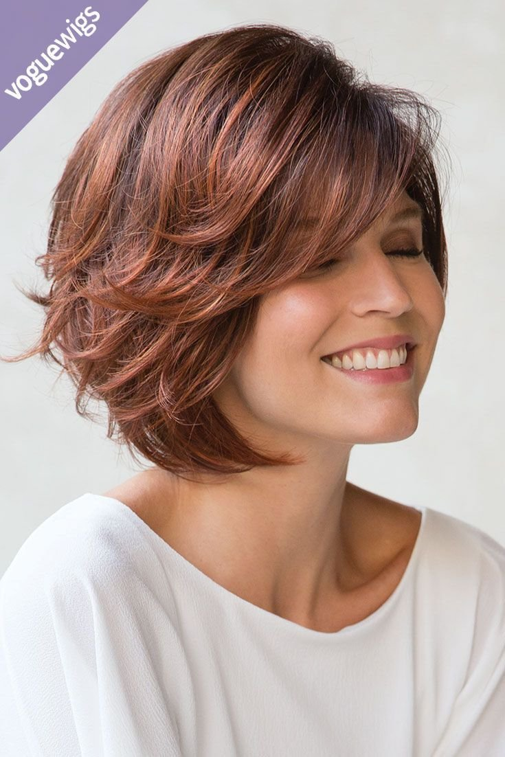 The Best We Love The Short Wispy Layers In This Fun Bob Short Pictures