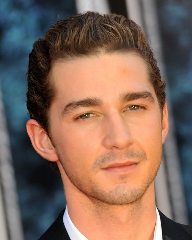 The Best Shia Labeouf Wearing Men S Makeup Short Formal Hairstyle Pictures