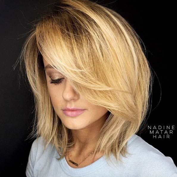 The Best Best 25 Medium Length Layered Bob Ideas On Pinterest Pictures