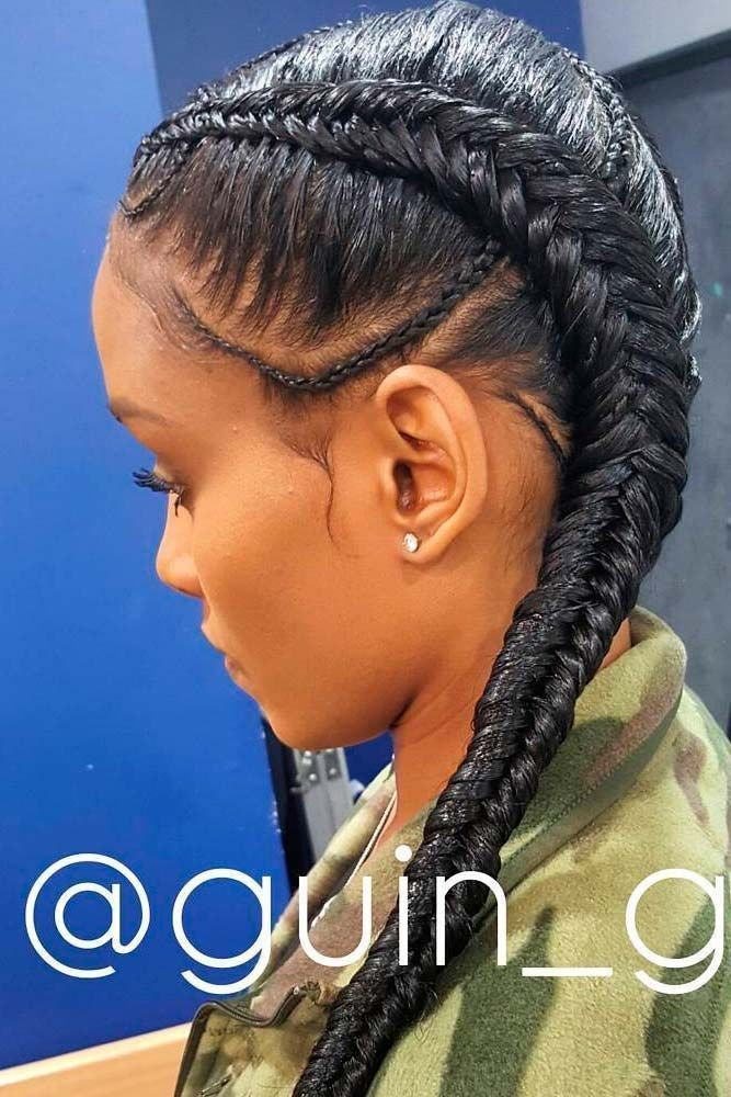 The Best Fishtail Braids Natural Hair And Protective Styling Pictures