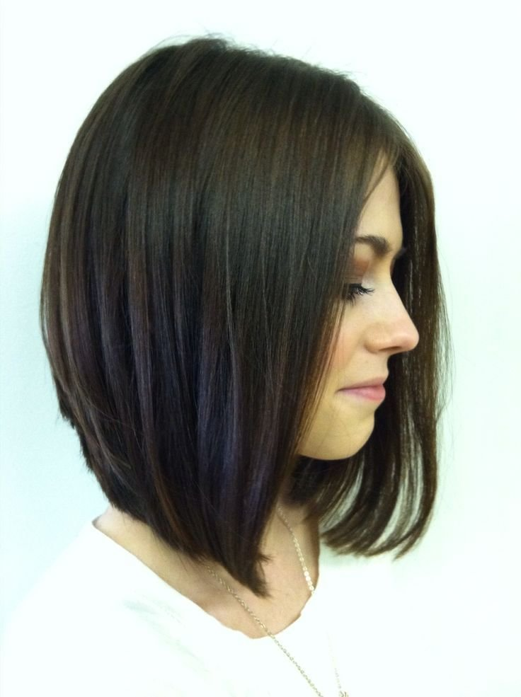 The Best Long Stacked Haircuts On Pinterest Thick Hair Hairstyles Pictures