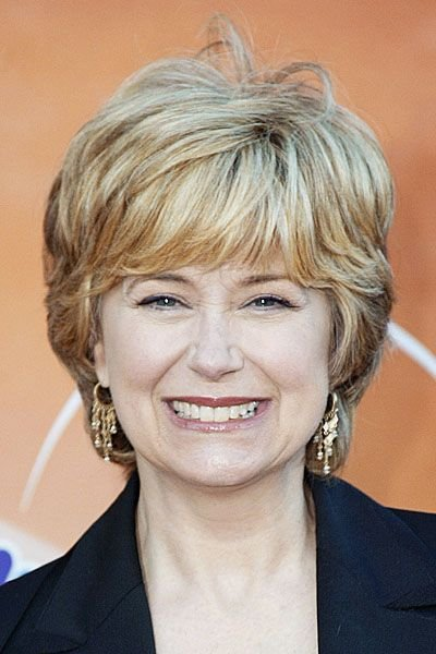 The Best Jane Pauley In Classic Short Haircut With Full Fringe And Pictures