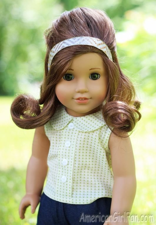 The Best American Girl Doll Hairstyle Waterfall Twist Braid Pictures