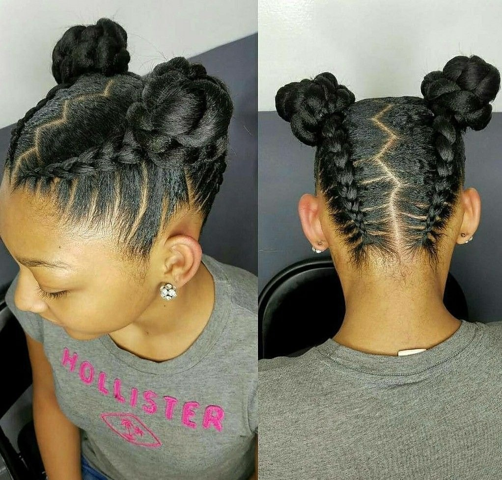 The Best Natural Hair Styles For Kids And Teens Buns And Updo S Pictures