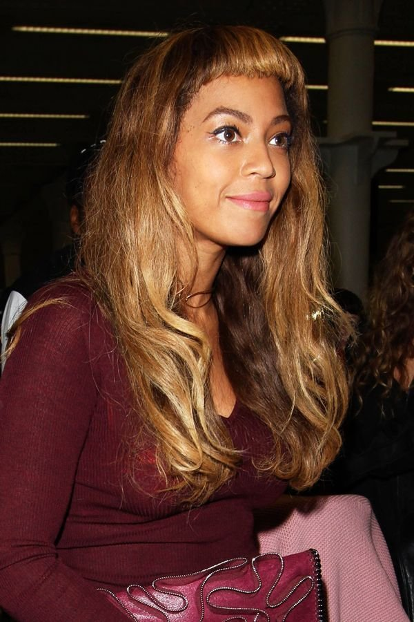 The Best Beyonce Bangs New Haircut Pictures