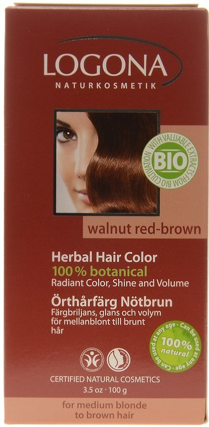 The Best Logona Herbal Hair Colour Powder Walnut Red Brown Pictures