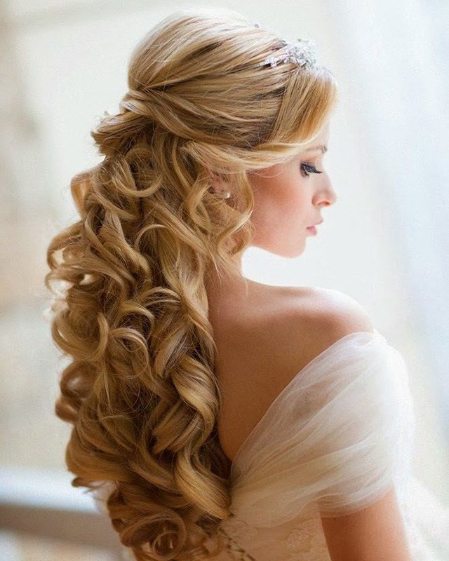 The Best Wedding Hairdos For Long Hair Different Styles And Pictures