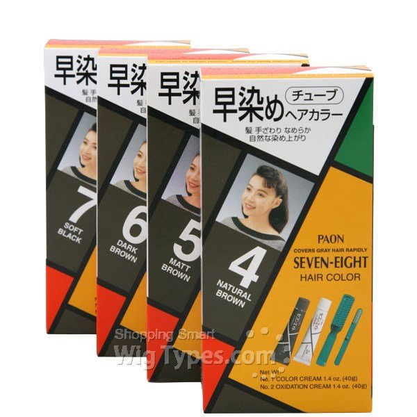 The Best Paon Seven Eight Permanent Hair Color With Brush Pictures