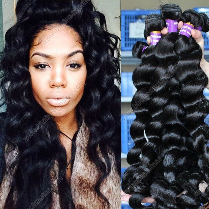 The Best Brazilian V*Rg*N Hair Loose Wave Human Hair Bundles Pictures
