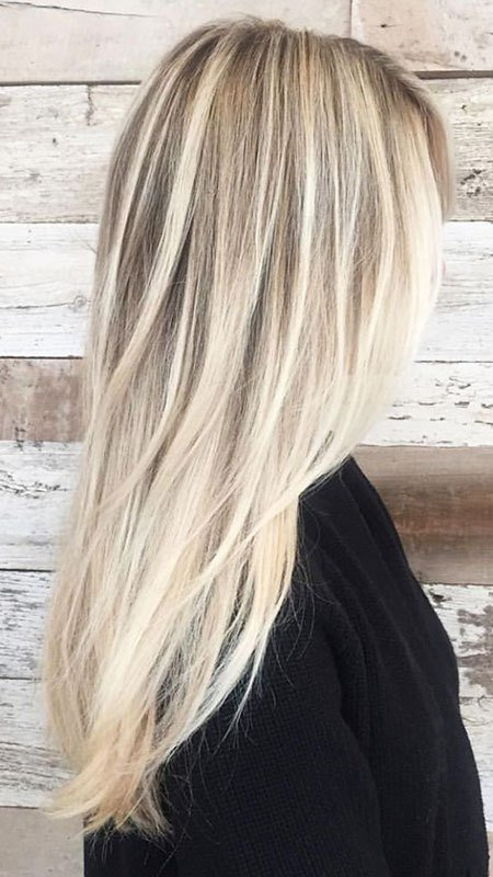 The Best 55 Long Blonde Hair Color – Blonde Hairstyles 2017 Pictures