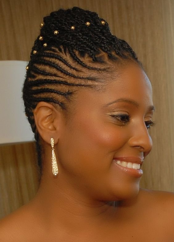 The Best 5 Breathtaking Wedding Braided Hairstyles For Black Women Pictures