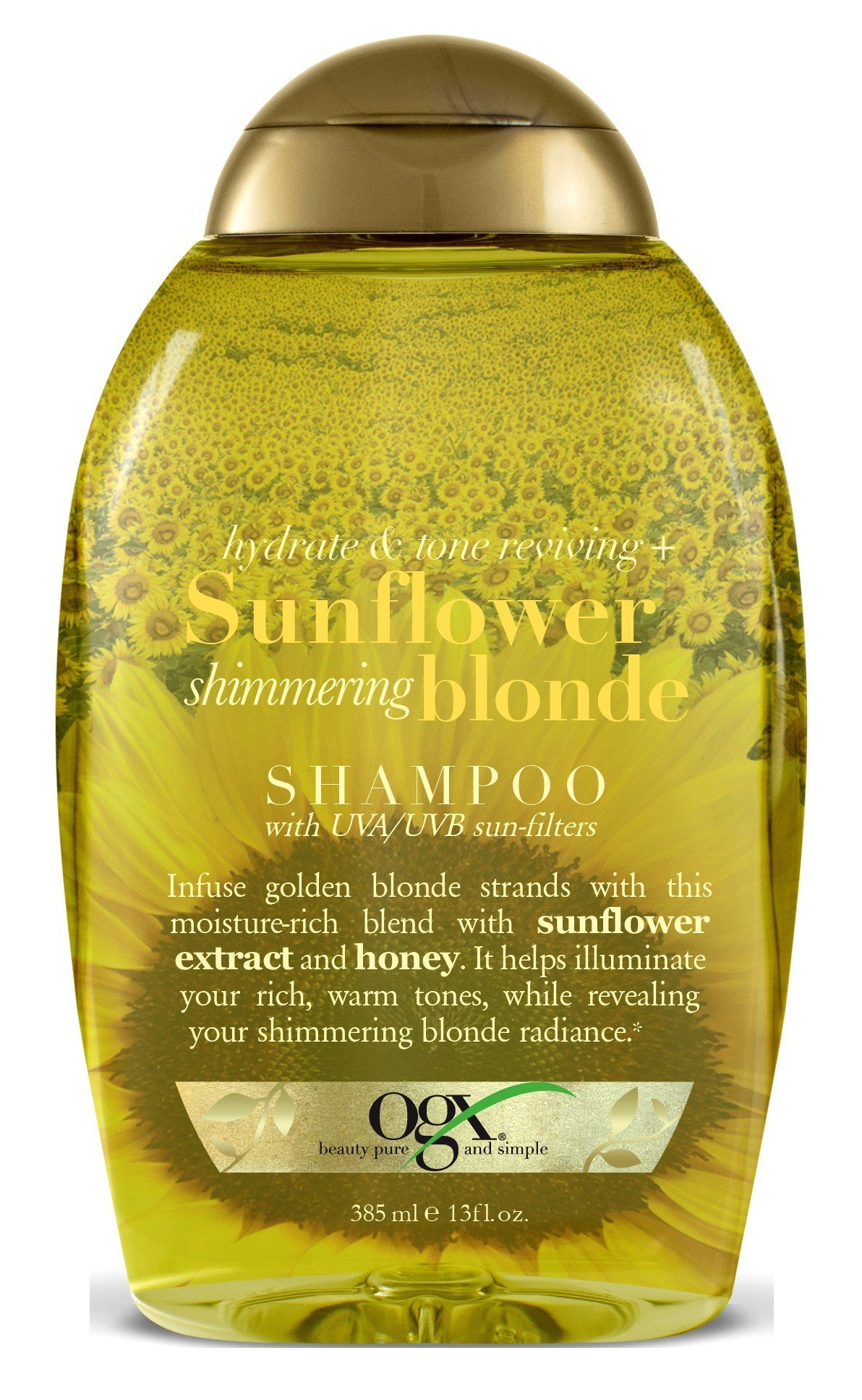The Best Ogx Hydrate Color Reviving Sunflower Shimmering Blonde Pictures