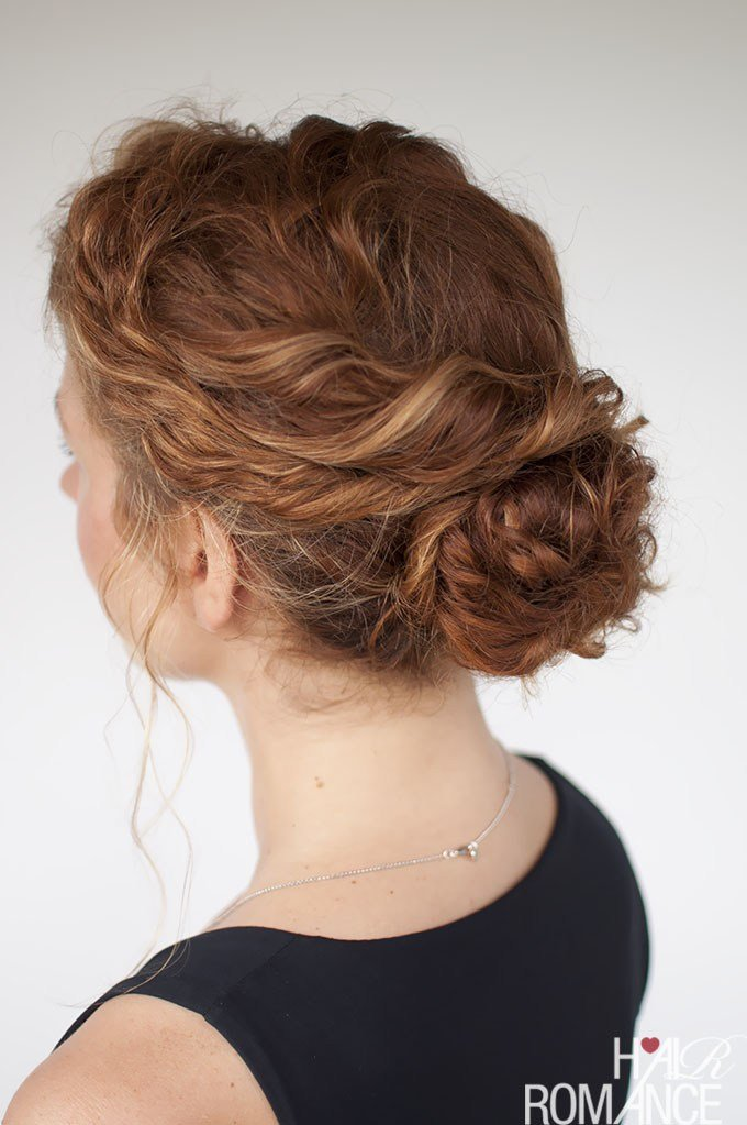 The Best Curly Hairstyle Tutorials For Frizzy Hair Hair Pictures